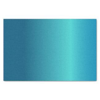 Metallisches Blau Seidenpapier