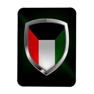 Metallisches Emblem Kuwaits Magnet