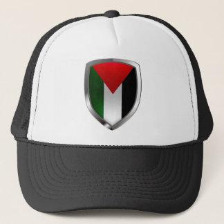 Metallisches Emblem Palästinas Truckerkappe
