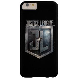 Metallisches JL Schild der Gerechtigkeits-Liga-| Barely There iPhone 6 Plus Hülle
