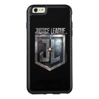 Metallisches JL Schild der Gerechtigkeits-Liga-| OtterBox iPhone 6/6s Plus Hülle