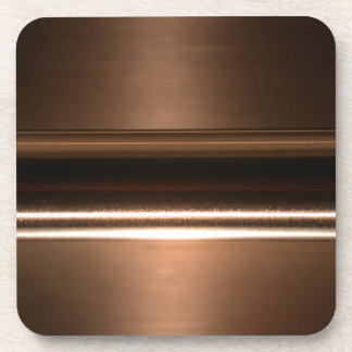Metallisches Kupfer hält Korken-unterstützte Untersetzer