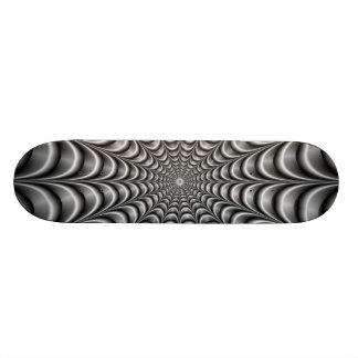 Metallisches Netz-Skateboard 18,7 Cm Mini Skateboard Deck