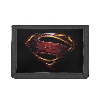 Metallisches Supermann-Symbol der