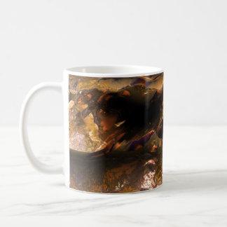 MetallLiebe beschädigte 2 Kaffeetasse