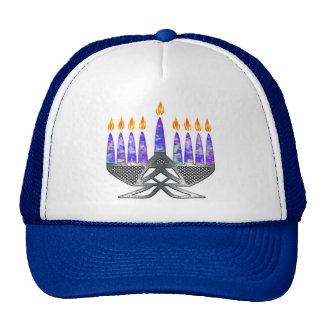 MetallMenorah Hüte Netzkappe