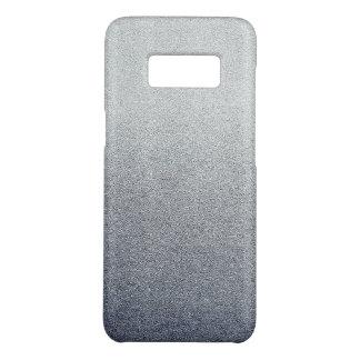 MetallOmbre grauer Glitzer-Sand Case-Mate Samsung Galaxy S8 Hülle