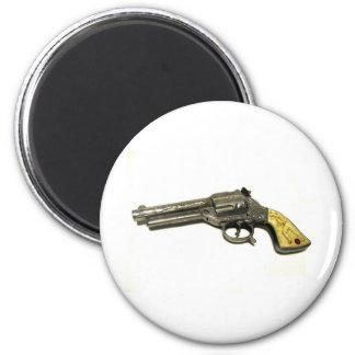 Metallspielzeug-Gewehr Runder Magnet 5,1 Cm