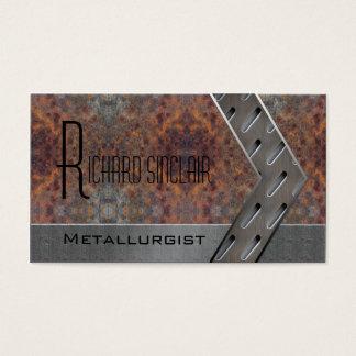 Metallurgie Style1 Visitenkarte