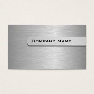 MetallVisitenkarte-Schablone Visitenkarte