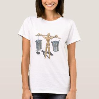 MetalPailsBalancedOnPole090312.png T-Shirt