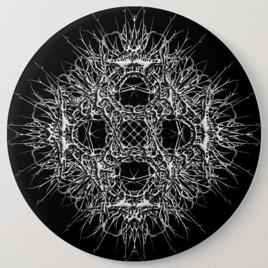 metalstar runder button 15,3 cm