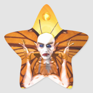 Metamorphose von Nosferatu Stern-Aufkleber