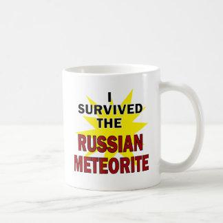Meteor-Überlebender Kaffeetasse
