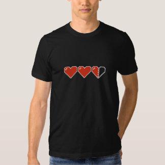 Meter des Herz-8bit Shirt