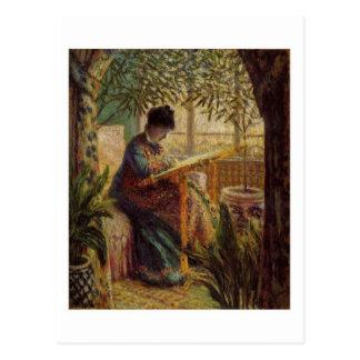 Métier Postkarte La femme Au