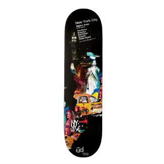 Metro New York City Skateboarddeck
