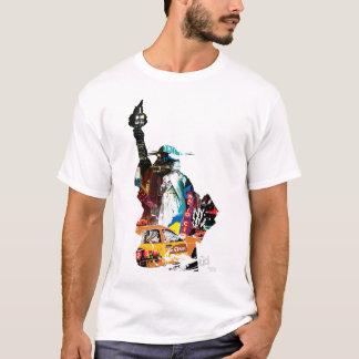 Metro-New- York Cityt-stück T-Shirt
