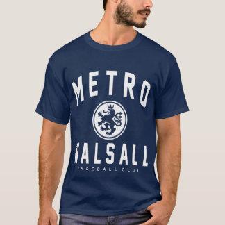 Metro Walsall Baseballverein-Dunkelheit T-Shirt