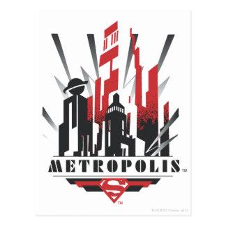 Metropole-Kunst-Deko Postkarte
