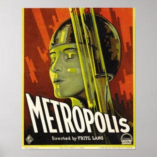Metropole-Plakat