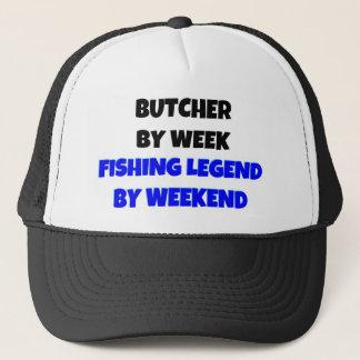 Metzger durch Wochen-Fischen-Legende bis zum Truckerkappe