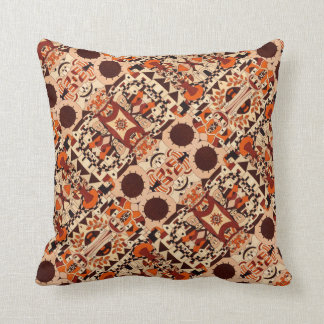 Mexican drawings - Throwing Pillow Kissen