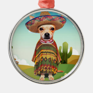 Mexikaner 000 silbernes ornament