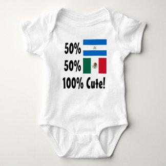 Mexikaner 100% 50% Nicaraguaner-50% niedlich Baby Strampler