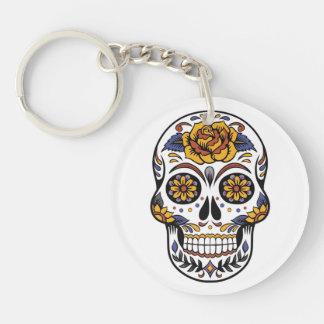 Mexikaner-Halloween-Maske Keychain Schlüsselanhänger