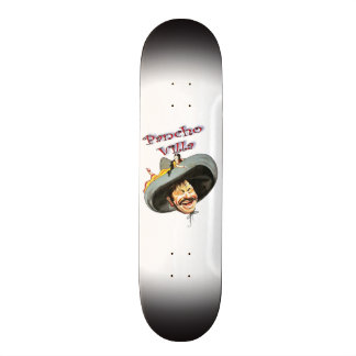 Mexikaner-Held General-Pancho Villa Individuelles Skateboard