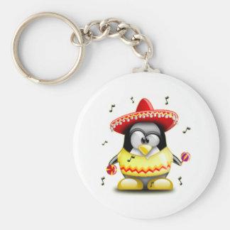 Mexikaner Tux Schlüsselanhänger
