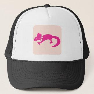 Mexikanische Axolotl-Reptil-Ikone Truckerkappe