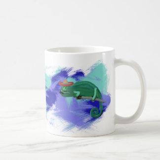 Mexikanische Chamäleon-Kunst-Tasse mit Retro Kaffeetasse
