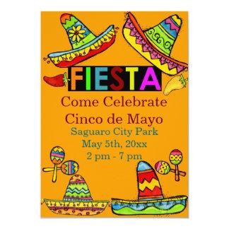 Mexikanische Einladungen Fiesta Cinco Des Mayo