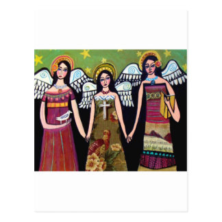 Mexikanische Engel durch Heide Galler Postkarte