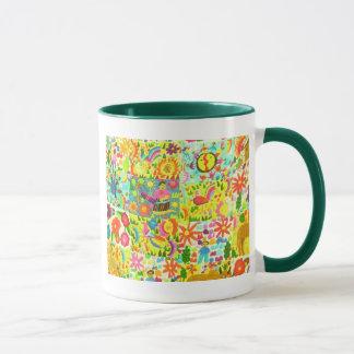 mexikanische Farben Tasse