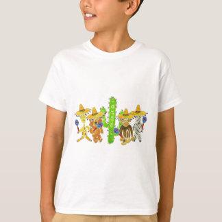 Mexikanische Fiesta-Lebewesen T-Shirt