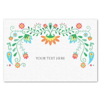 Mexikanische Fiesta-personalisiertes Seidenpapier