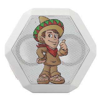 mexikanische Kinderkarikatur Weiße Bluetooth Lautsprecher