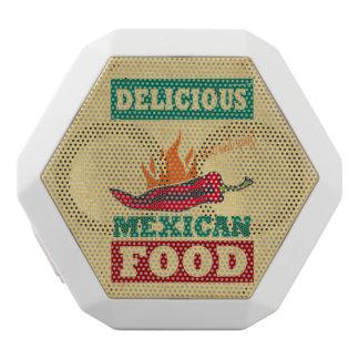 Mexikanische Nahrung Weiße Bluetooth Lautsprecher