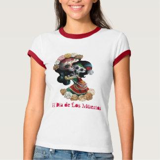 Mexikanische Skeleton Motherly Liebe Tshirts