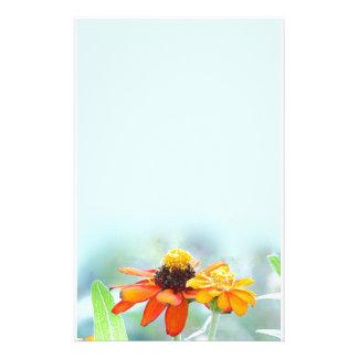 Mexikanische Sonnenblume-Blau-Briefpapier Briefpapier