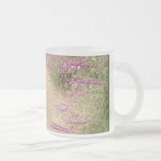 Mexikanische weise Blumen-Tasse Mattglastasse