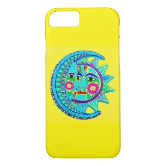 Mexikanischer Art Sun-Mond iPhone 8/7 Hülle