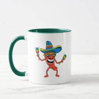 Mexikanischer Chili-Pfeffer Tasse