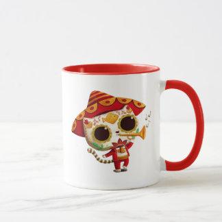 Mexikanischer EL-Mariachi niedliche Katze Tasse