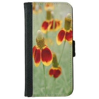 Mexikanischer Hut-Texas-Wildblumen Geldbeutel Hülle Für Das iPhone 6/6s
