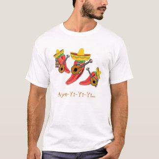 Mexikanischer Mariachi versehen T - Shirt mit