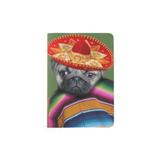 Mexikanischer Mopshund Passhülle